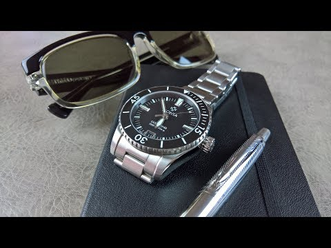 On the Wrist, from off the Cuff:  Monta – Oceanking, Review Pt.2