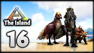 TAMING A BARYONYX & ANKYLOSAURUS COUPLE! | ARK Survival Evolved (The Island)