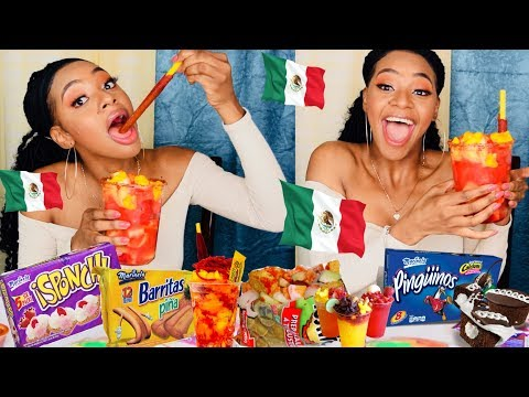 TRYING MEXICAN SNACKS!!!!| MEXICAN FOOD