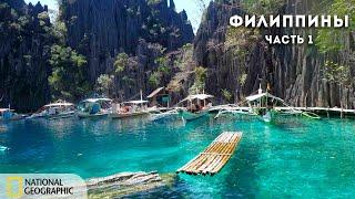Дикая природа Филиппин. Часть 1   Документальный фильм National Geographic