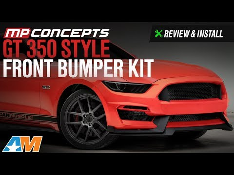 2015-2017 Mustang GT, EcoBoost, V6 MP Concepts GT350 Style