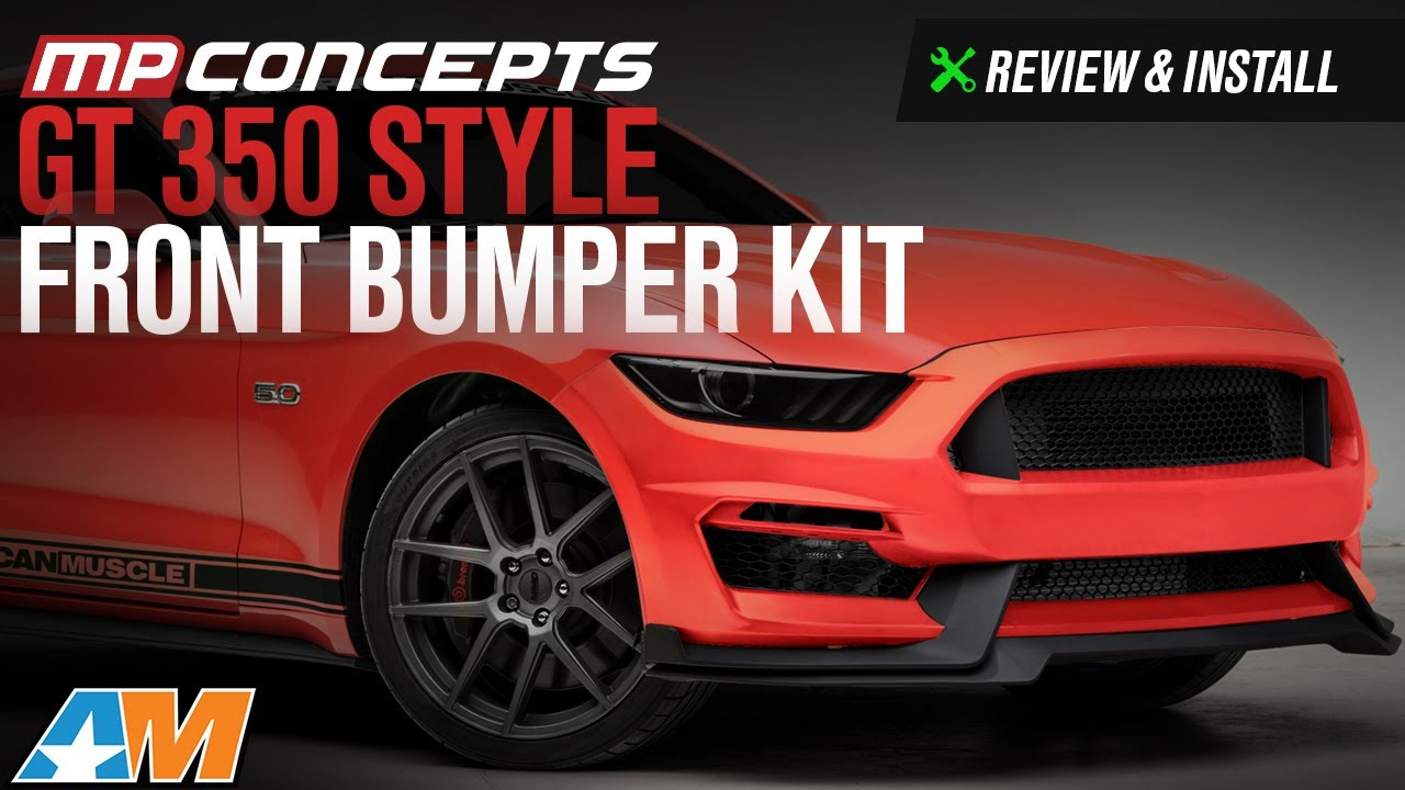 2015 2017 Mustang Gt Ecoboost V6 Mp Concepts Gt350 Style Front