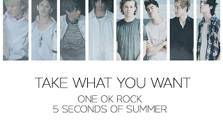 Download Lagu [Japanese Ver] ONE OK ROCK - Take What You Want (Ft. 5 Seconds of Summer) LYRICS mp3