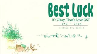 [Vietsub|Audio] CHEN - Best Luck (It's Ok!That's Love! OST)