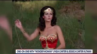 "One-on-one with OG ""Wonder Woman"" Lynda Carter and daughter Jessica Carter Altman - FOX 5 Washington DC on YouTube"