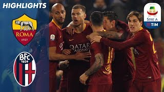 Roma 2-1 Bologna | Goals from Kolarov & Fazio saw 5th placed Roma hold on for win | Serie A