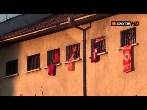 Уникално: Затворници подкрепиха ЦСКА в Пазарджик