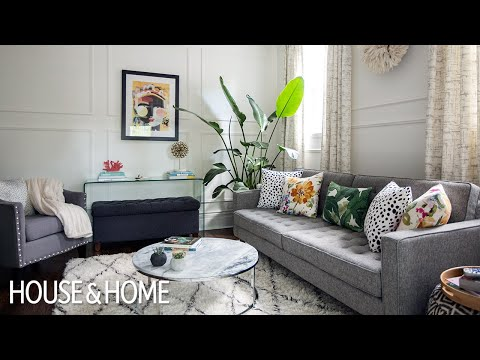 Interior Design — This Small Space Makeover Is