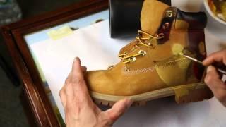 "De la David- Custom Painted ""IRON MAN"" Timberland Boots (Time Lapse Video)"