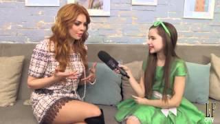 репортер LFCITY - интервью Анастасии Стоцкой