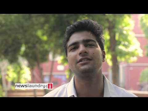ABVP students speak to Newslaundry