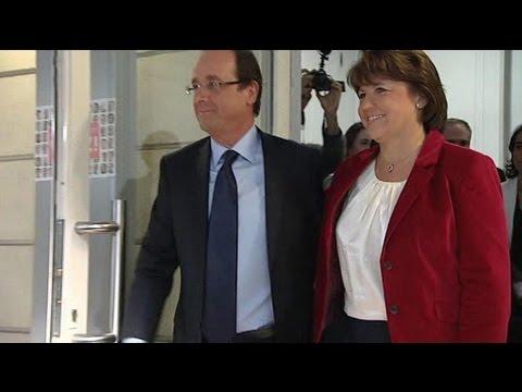 Primaire PS : HollandeAubry, l'union sacrée
