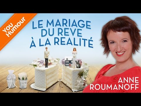 Anne Roumanoff, Le mariage