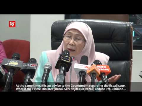 Pakatan's alternative budget aims to save 'crashing economy'