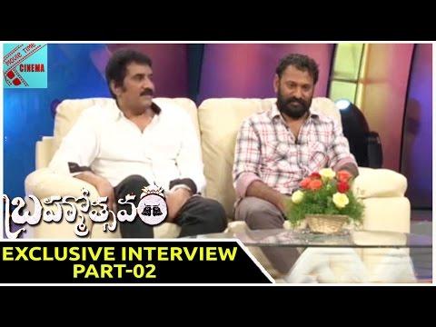 Brahmotsavam Movie Interview with Rao Ramesh, Jayasudha and Srikanth Addala || Part-02