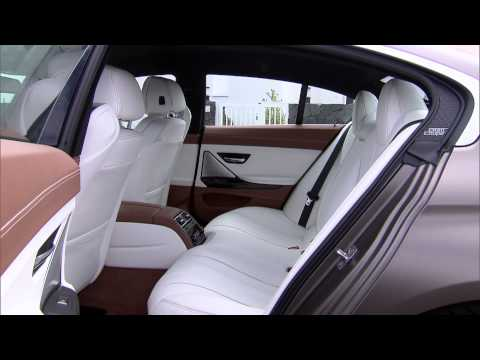 BMW 6-Series Gran Coupe interior - reveal footage