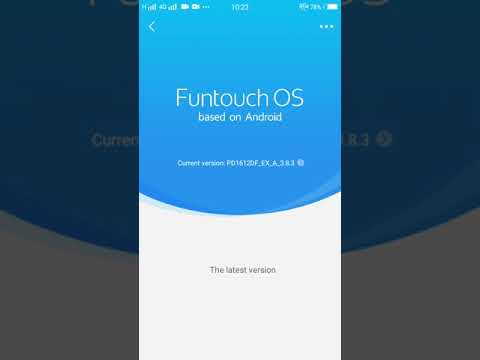 Vivo V5s System Update August 2018 | how to update new version of Funtouch  OS ?