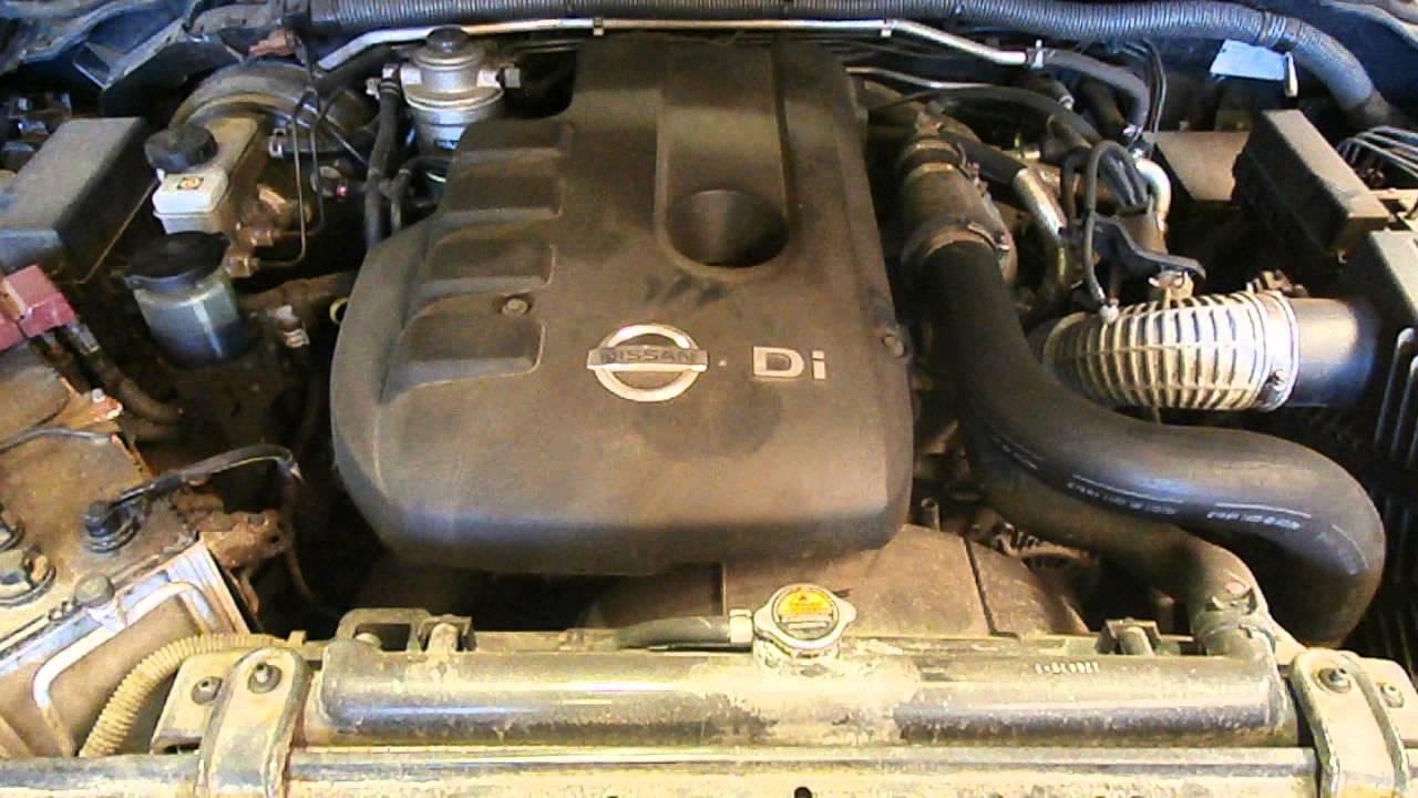 Wrecking 2010 Nissan Navara Engine 2 5 Diesel Turbo Yd25