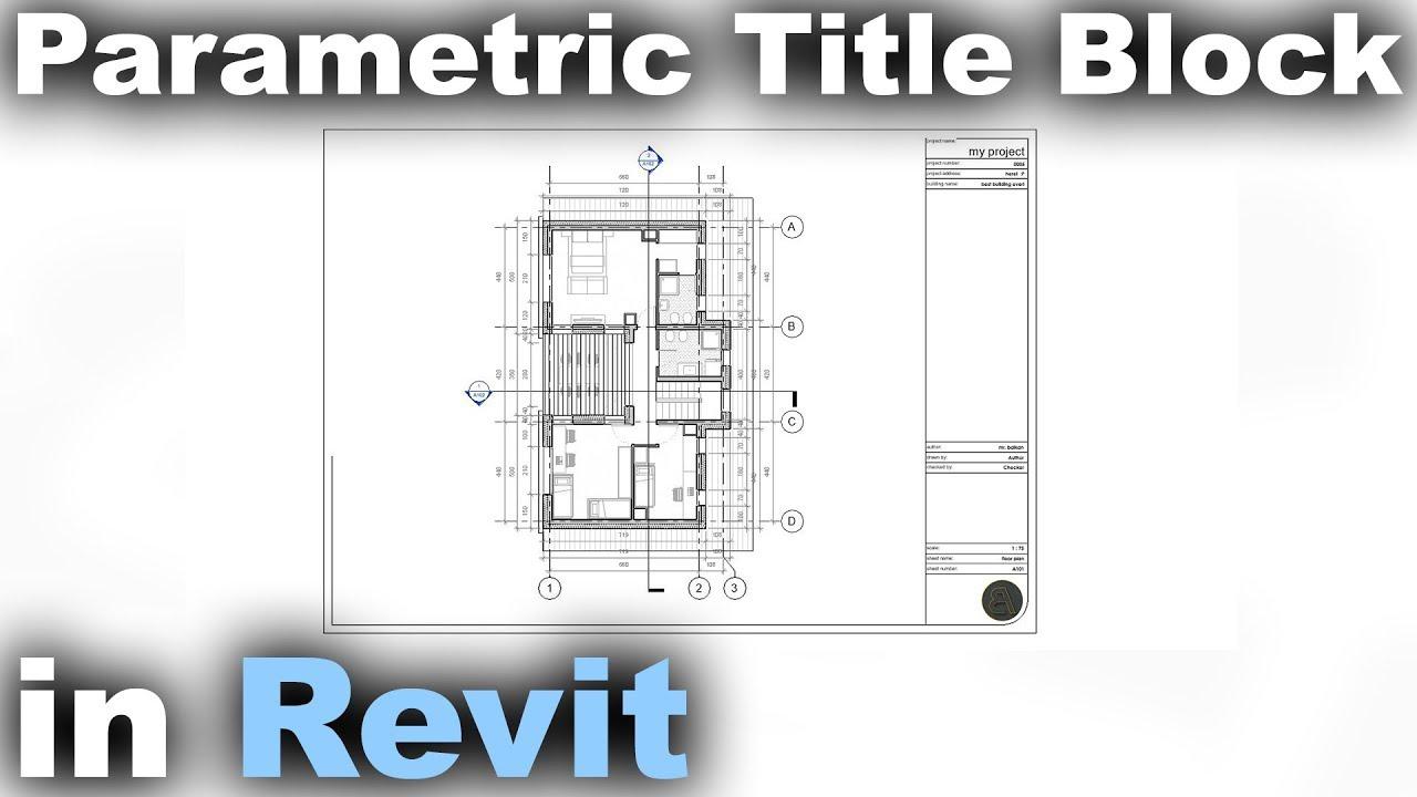 Parametric Title Block in Revit Tutorial