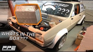 Compound Turbo Mk1 Fiesta - Episode 22 - Whats in the box???