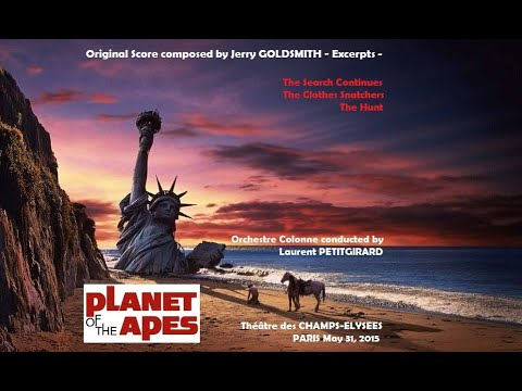 Jerry Goldsmith PLANET OF THE APES live concert suite in PARIS May 31, 2015