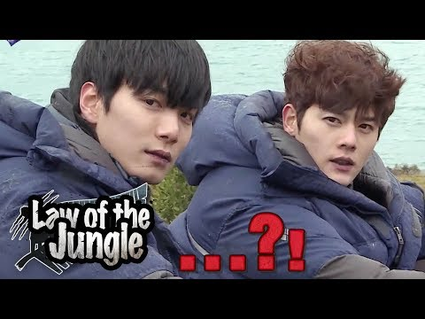 Hunting became Photoshoot (ft. Nuest W JR, ZEA Dongjun) [Law of the Jungle Ep 304]