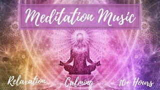 Calm Ambient Meditation Music | Positive Energy Vibration | Relaxation & Study | 10+ Hours