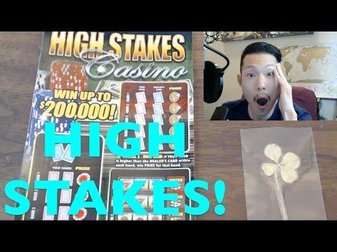 HIGH STAKES CASINO!!! $20 Idaho Lottery Scratchers