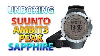 Suunto Ambit3 Peak Sapphire HR - Unboxing  ((PT))