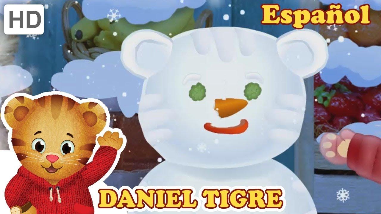 Daniel Tigre en Español 🎵 ¡Maravillas de Invierno en Interiores ...