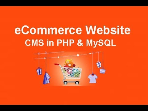 eCommerce Website CMS in PHP & MySQL Part 52 - Creating Drop Down Menu For Admin Episode 1 thumbnail