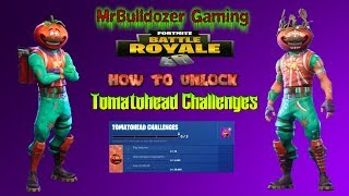 Fortnite Season 5 Update 5.3 How to Unlock The Tomatohead Crown Challenges & Skin