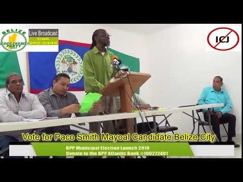 BPP Belize City Municipal Launch 2018