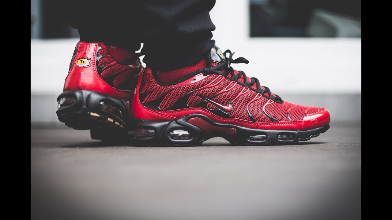 nike air max tuned 1 red nz