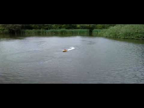 NQD Tear Into maiden voyage on shire brook ponds, Sheffield