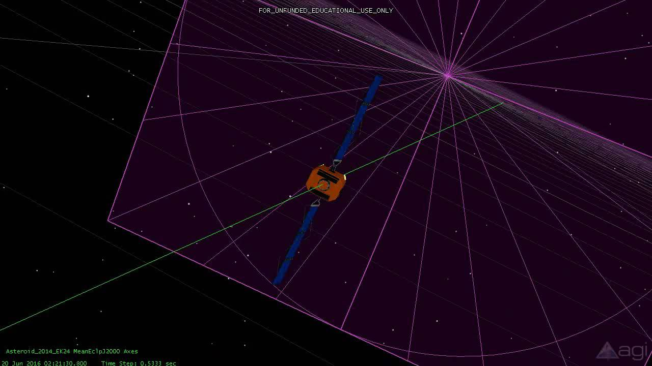 asteroid 2014 ttx - 1280×720