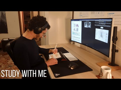 Study With Me Live Pomodoro | Medical Student
