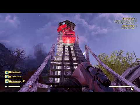 FALLOUT 76 - A Grand Tour Of Camden Park And Beckley, WV!