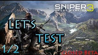 Let's Test Sniper: Ghost Warrior 3 german/deutsch Gameplay  Closed Beta - Blockout 1/2 | Huschee