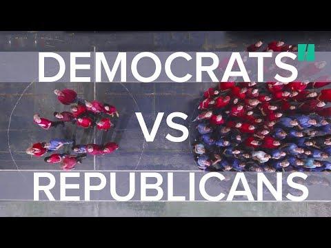 Yes / No: Democrats and Republicans