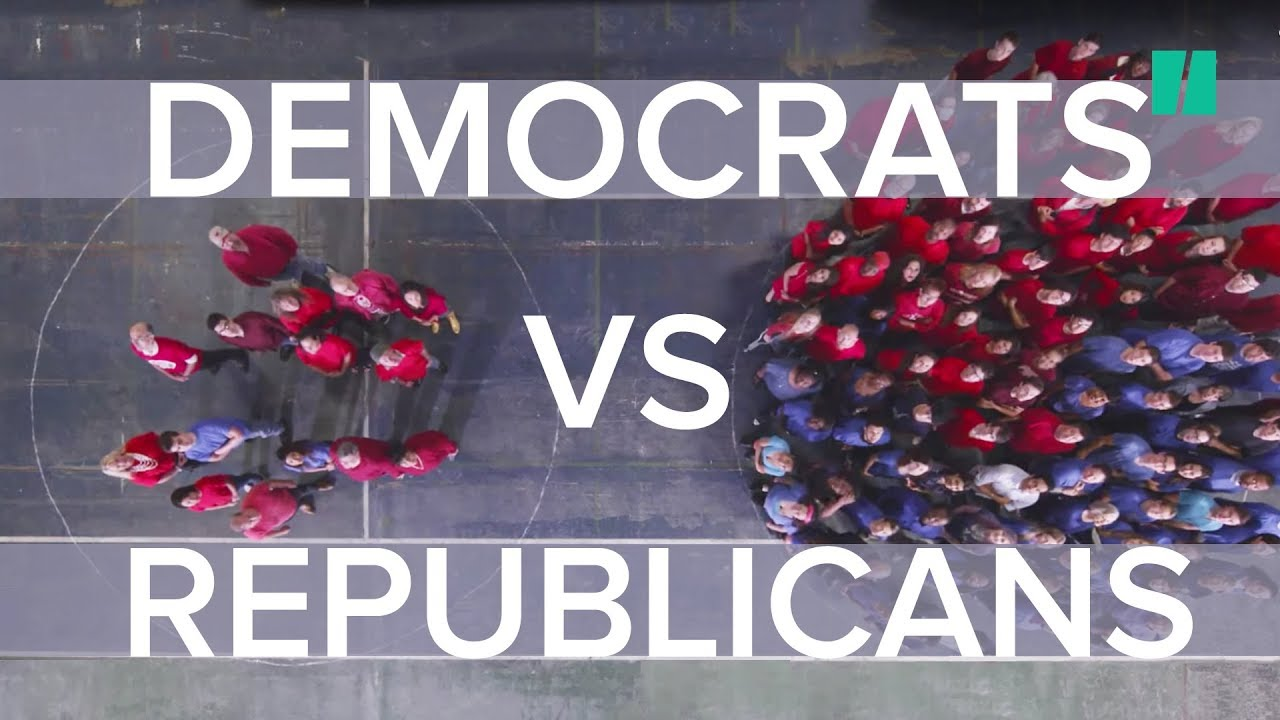 Yes / No: Democrats and Republicans