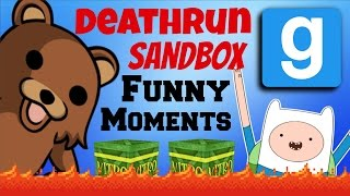Gmod Deathrun / Sandbox - Extreme 'fucking Up The Map' - Garry's Mod Funny Moments Montage