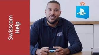 Im PlayStation Store mit der Handyrechnung zahlen - Swisscom Help