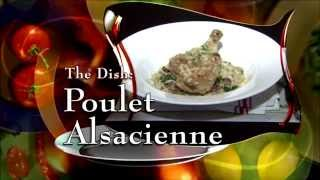 Poulet Alsacienne from Bistro Cassis