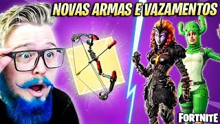 BOW AND ARROW, NEW PACK, SKINS, ITEMS AND MORE! UPDATE 8.20-Fortnite News #6