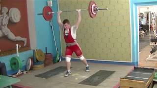 Пашуто Сергей, 16 лет, вк 85 Толчок 90 кг