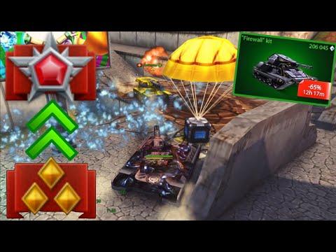 Tanki Online Road To Legend #10 - FireWall Kit?!