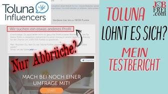 Toluna.de Test: Immer wieder Abbrüche bei Online-Umfragen?!