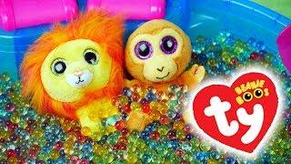 Beanie Boos • Zabawy w basenie • Kulki żelowe & Happy Meal McDonalds • Bajki dla dzieci
