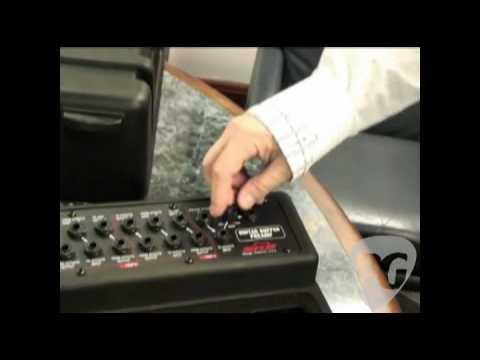 NAMM '09-SKB Cases PS-55 Pedalboard & Rotomold Strat Case